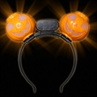 Pumpkin LED Headbopper
