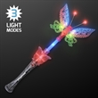Large Musical Blinking Butterfly Wand