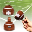 "3 1/2"" Metal Football Cowbell - 3 1/2"" metal cowbell with football shape"