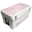 "Frio 65 King's Camo Pink - KingsCamo themed.Built in light, fully customizable, 65 quart, mid sized, Frio 65 Cooler 32.625"" L x 18.5"" W x 17.625"" H 32.8 lbs"