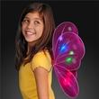 Blinking Fuschia LED Fairy Wings