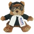 8'' Aviator Bear with full color imprint
