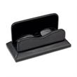 Classic Black Leather Eyeglass Holder - Black leather eyeglass holder.