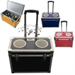 Cooler case with speakers