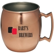 Copper coated Moscow mule mug,17 oz - Copper coated moscow mule mug,17 oz