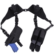Black Ambidextrous Shoulder Holster - Black Ambidextrous Shoulder Holster