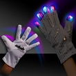 Light Up LED Glow Right Hand Rock Star Glove