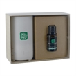 Electronic Diffuser + 15ml Bottle Essential Oil w/ Gift Box - Electronic Diffuser, 65ml. & 15mL Dropper Bottle Essential Oil in Gift Box.