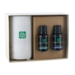 Electronic Diffuser +Two Essential Oil bottles w/ Gift Box - Electronic Diffuser & Two 15mL Dropper Bottle Essential Oil in Gift Box