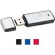 "Rec USB flash drive keychain, 3.0 speed - Rectangle shaped flash drive with keychain, 2 1/2"" x 3/4""."