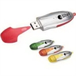 """Jupiter USB flash drive keychain, 3.0 speed - USB flash drive with keychain with frosted trim color, 3 1/2"""" x 1"""". """"FREE SETUP""""."""