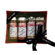 Four Grilling Spice Set - Grade AA four-pack of spices with hickory rub, chicken and rib rub, steak, and chef seasonings.