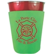 Party Cup Scuba Coolie - Polyester foam insulated party cup beverage holder with custom design