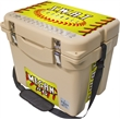 "Frio 25 Cooler Tan - Fully customizable, 25 quart, easy to carry Frio 25 cooler. 18.25"" L x 12.75"" W x 16"" H 14lbs"