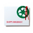 Recycle Symbol Seed paper cards
