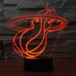 Custom design 3D LED Lamp