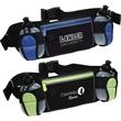 Sleek Water Resistant Sports Pack with Dual Bottle Holders