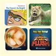 """Origin'L Fabric®4""""x4""""x1/8"""" Antimicrobial Fabric Coaster - Origin'L Fabric®4""""x4""""x1/8""""-Antimicrobial Fabric Coaster-Made in the USA with brilliant, full color sublimation imprint"""