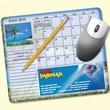 MousePaper® Calendar 12 Month (Landscape) Mouse Pad