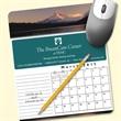 MousePaper(R) Calendar 12 Month (Portrait) Mouse Pad