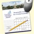 MousePaper(R) Calendar 18 Month (Portrait) Mouse Pad - Recycled Note Paper (Portrait) Mouse Pad - 5-Day Std; RUSH: 3-Day
