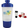 18 oz Shake It Up Bottle - 18 oz shaker bottle with filter screen for easy mixing.