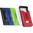 Smart Mobile Wallet with Phone Stand & Screen Cleaner