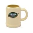 24 oz. Bullet Beige Ceramic Beer Mugs