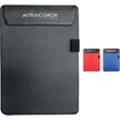 Covington Clipboard - Microfiber clipboard with pen loop. Holds up to 20 sheets.