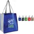 Habitat Shopper - 80gsm non-woven bag with contrasting color scheme on handles.