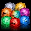 "1 3/8"" Premium Light-Up Glow Cube - 1 3/8"" premium light-up ice cube (Blue, White, Green, Pink, Rainbow)."
