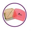 Sandwich Keeper - Polypropylene sandwich container.