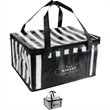 Meals to Go Insulated Carrier - Cooler bag with strap and zippered pocket. Hold 12 bottles or cans.
