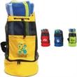 "Backpack Cooler Bag - 70D Nylon multi-functional collapsible bag with 30"" adjustable backpack straps."
