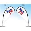 Desk / Table Flag  - Double Sided - Desk / Table Flag - Double Sided