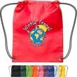 Small Non-Woven Drawstring Backpack - Small non-woven drawstring backpack.
