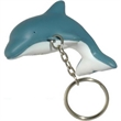 Dolphin Key Chain Stress Reliever