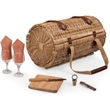 Verona - Adeline - A barrel-shaped basket with deluxe wine and cheese service for two.