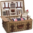 Charleston - A luxury picnic basket with service for four.