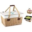Canasta Grande - Flat-lid empty picnic basket.