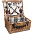 Bristol - English-style basket with service for two.