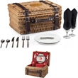 Champion - Picnic basket with deluxe service for two.