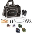 Malibu - Insulated cooler with deluxe picnic service for two.