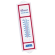 "One Hundred thermometer - Indoor or outdoor thermometer with red trim. Thermometer is 3 3/4"" x 13 1/4""."