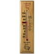 "Oak Wood Thermometer - Indoor/outdoor Oak Wood Thermometer with 5"" tube. Made from Pennsylvania hardwoods!"