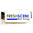 Freshscent Bar Soap - Individually wrapped travel size deodorant soap. BLANK. Use alone or in a custom kit.