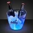 Deluxe blue LED beer bucket