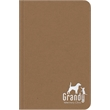 """Bright Notes - Jotter - 4"""" X 6"""" Jotter Pad with Flexible wraparound bright colored paper, 50 sheets writing paper and custom foil imprint."""
