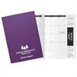 "Academic Deluxe 7 x 10 Planner - Academic deluxe planner, 7""W x 10""H closed."