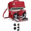 Pranzo - Insulated picnic pack with service for one and separate hot and cold compartments.